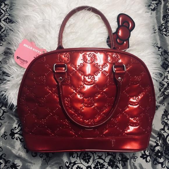 1cc4cdf09d0f Bags | Rare Loungefly Hello Kitty Bowler Bag | Poshmark